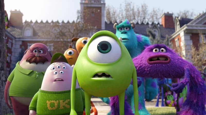 Monsters University. La importancia de seguir tus sueños.